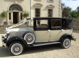 Viscount wedding car hire in Ascot